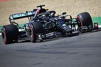 Hamilton manda en Silverstone antes de la clasificación