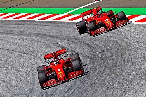 A Ferrari 0.7 másodpercet veszít egy kör alatt a motorteljesítmény miatt.