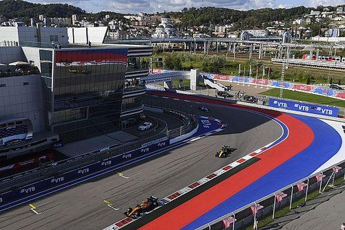 索契欢迎举办两场F1大奖赛