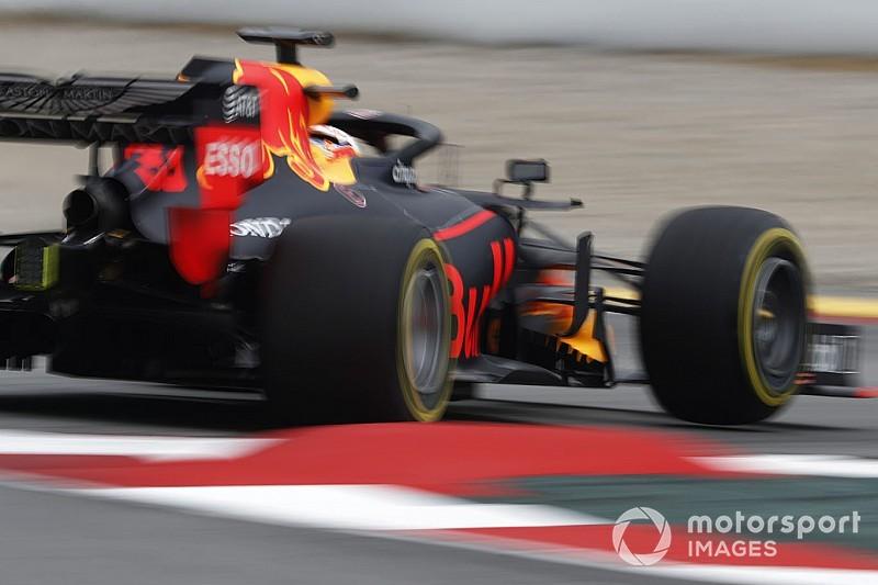 Red Bull frenata da Honda. Tanabe: