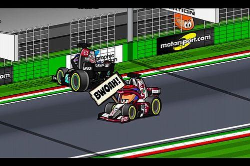 Vídeo: la emocionante carrera de Imola de F1, por los Minis