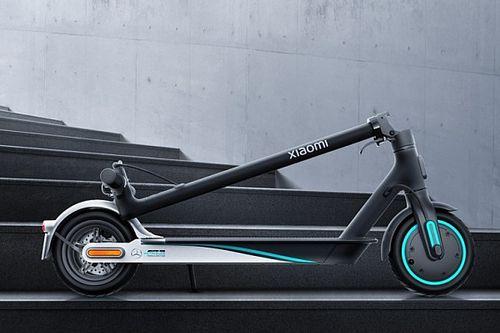 Xiaomi'nin Mercedes ile ortaklaşa hazırladığı elektrikli Scooter ortaya çıktı
