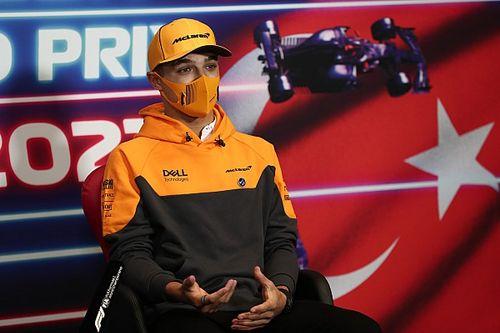 F1: Norris acredita que Ferrari mudou seu ritmo: estão mais fortes