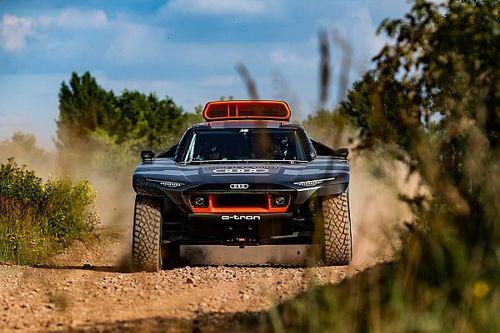 The technical secrets behind Audi's 'electric' Dakar challenger