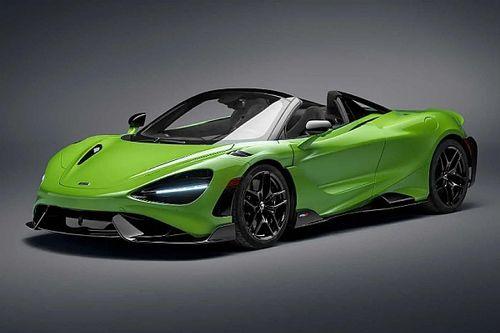 Megjött a McLaren Super Series újabb tagja, a 765LT Spider
