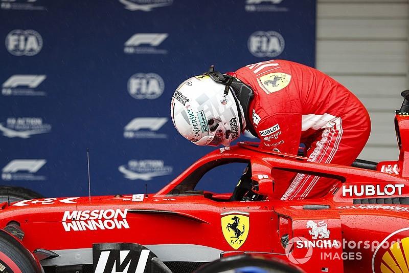 Vettel culpa a Verstappen del accidente en Japón