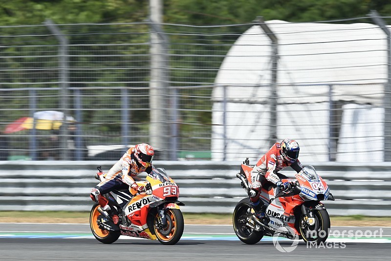 Marquez wants to emulate Dovizioso's