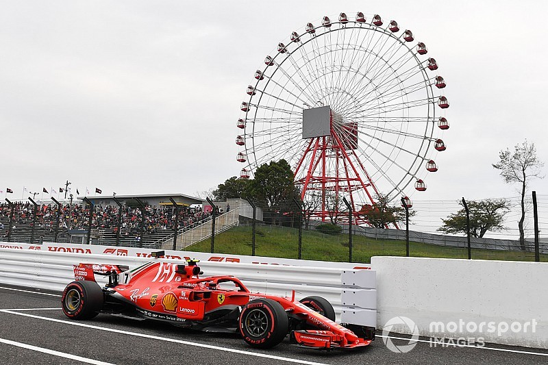 Онлайн. Гран При Японии: вторая тренировка