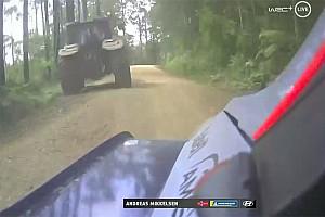 Errant tractor sparked Mikkelsen crash
