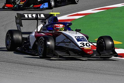 Три потомка пилотов Формулы 1 сражались за победу в гонке Формулы 3 – и все остались не у дел после аварий