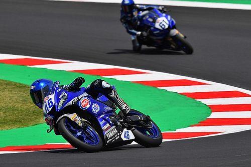 Nowak zadebiutował w serii Yamaha bLU cRU