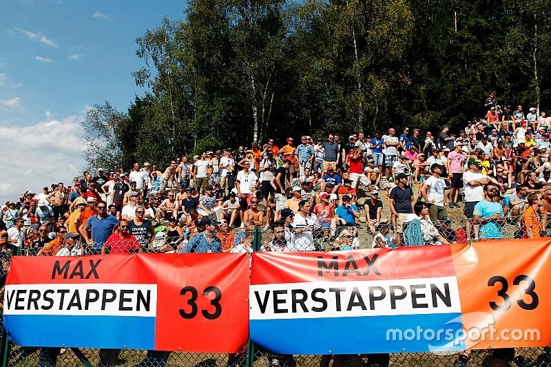 Tiket GP Belgia laris terjual karena Verstappen