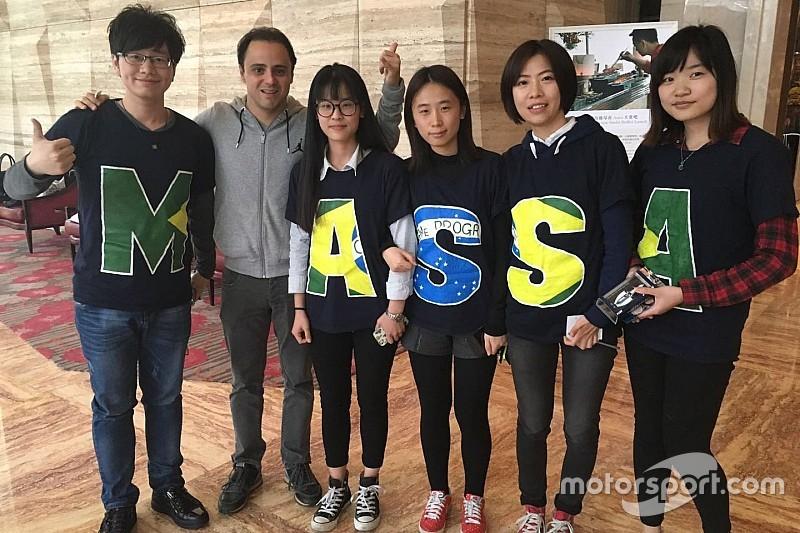 Felipe Massa recibe felicitaciones por su cumpleaños 35