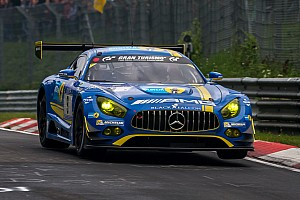 Endurance Qualifying report Mercedes claims pole in frantic Nurburgring 24h qualifying
