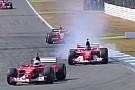 VIDEO: Coches históricos de Ferrari de F1 en Hockenheim