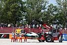 Хэмилтон и Росберг столкнулись на первом круге Гран При Испании