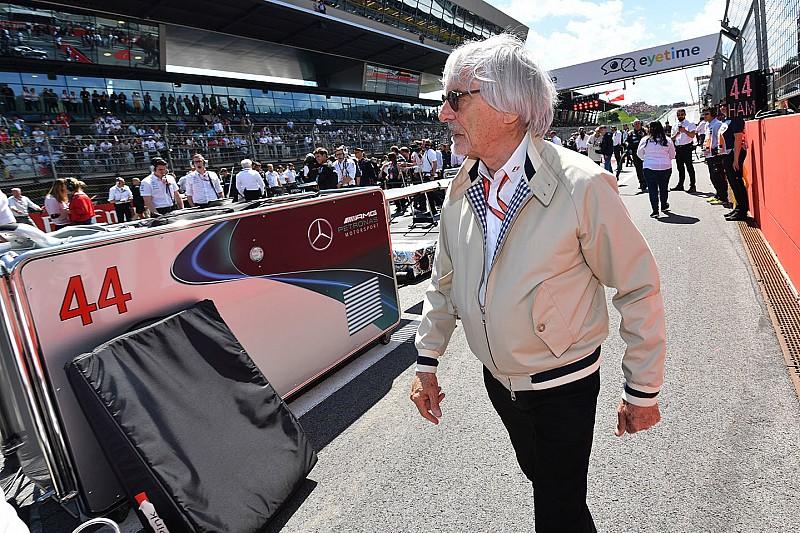 Ecclestone, Ferrari'nin Raikkonen'e takım emri vermemesinden memnun