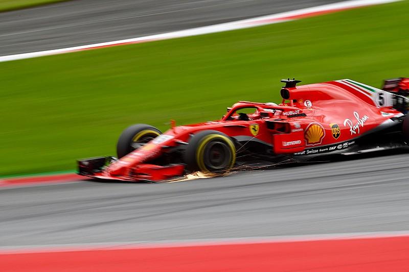 Red Bull Ring, Libere 3: Vettel svetta con la Ferrari davanti alle due Mercedes