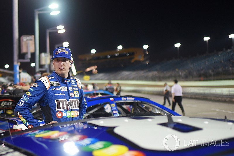 Kyle Busch molesto por el marketing de NASCAR con los jóvenes pilotos