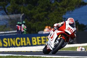 Moto2 速報ニュース 中上貴晶予選7位「リヤに充分なグリップを得られなかった」:IDEMITSU Honda Team Asia