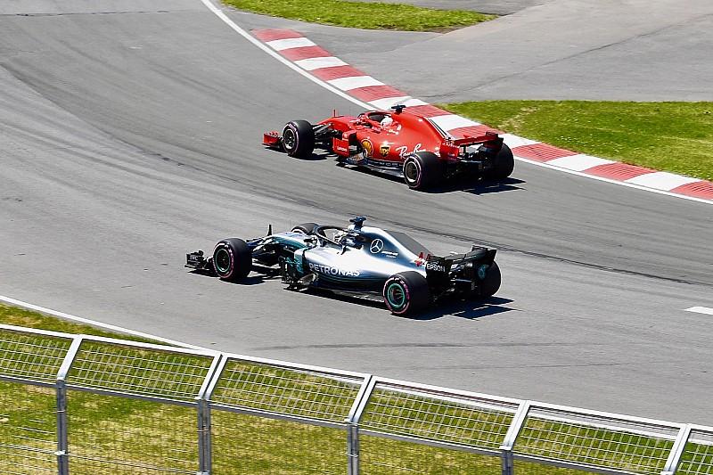 Klasemen F1 2018 setelah GP Kanada