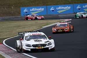 DTM Race report Hungaroring DTM: Di Resta beats Auer in Race 1