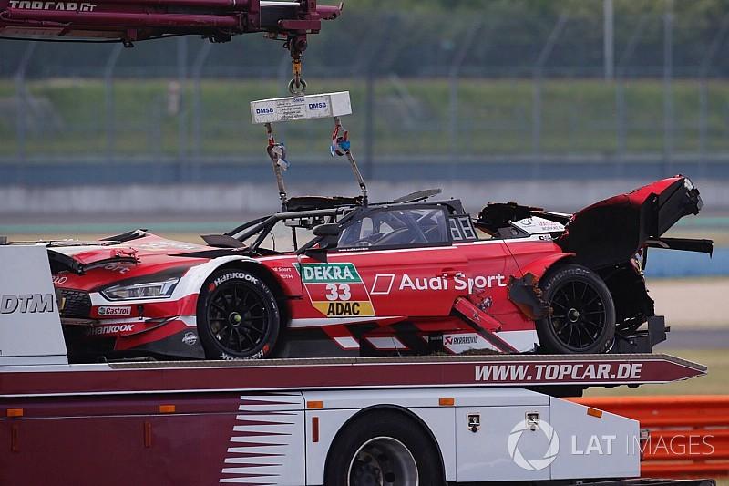 Mortara vence en una accidentada primera carrera del DTM en Lausitzring