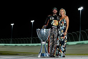 NASCAR Cup Breaking news Truex, Pollex recognized with Myers Brothers Award