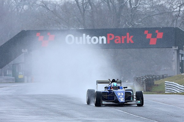 Monger completes first single-seater test since accident