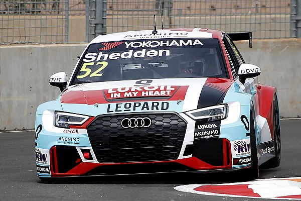 Kristensen samples Audi's WTCR car