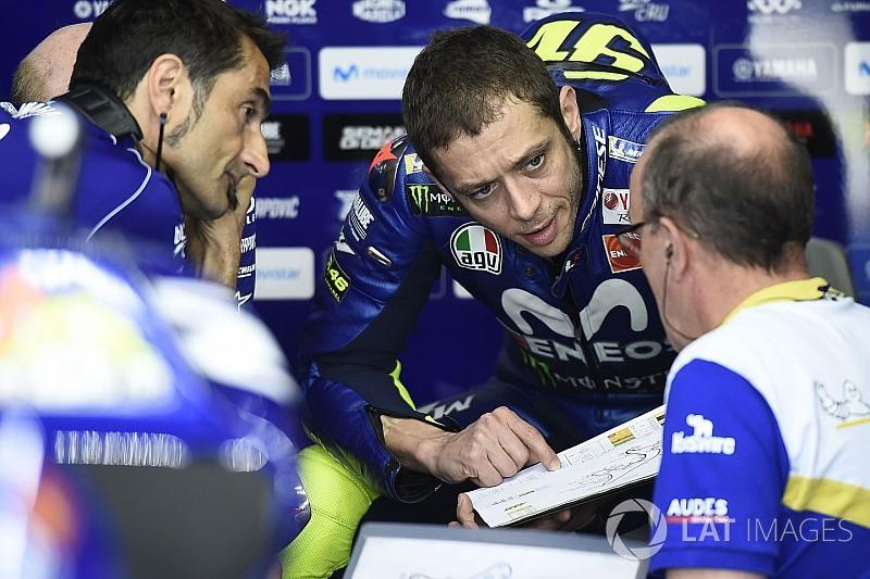 Ingin bangkit, Rossi anggap tiap sesi krusial