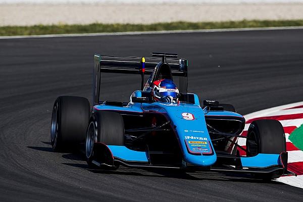 GP3 Crónica de Clasificación Pulcini con la primera pole de GP3, Calderón y Menchaca en 14 y 16