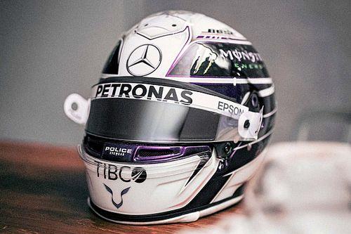 Hamilton pokazał kask