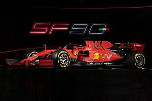 Vettel és Leclerc a Ferrari új szerelésében