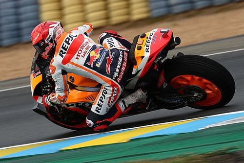 "Marquez: Second row start for French MotoGP is ""best dream"""