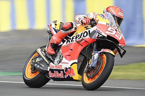 Hasil FP3 MotoGP Prancis: Marquez Impresif, Mir dan Bagnaia ke Q1
