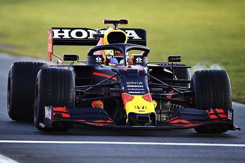 Perez tevreden na eerste testdag met Red Bull Racing op Silverstone