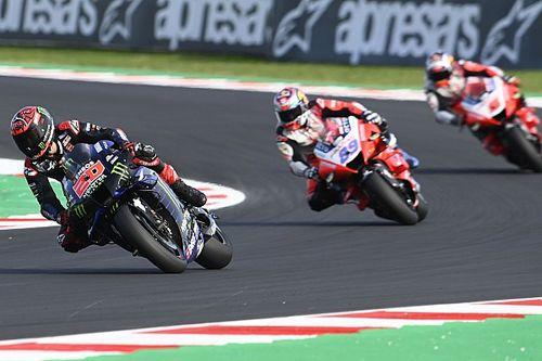 Quartararo MotoGP-wereldkampioen na crash Bagnaia in GP van Emilia-Romagna