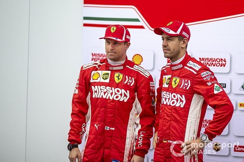 Para Raikkonen, culpar a Vettel por sus errores