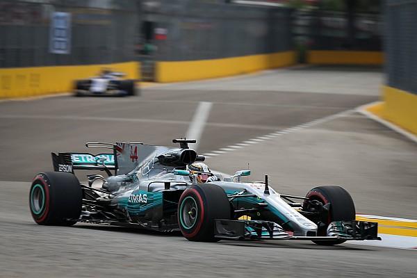 La debilidad de Mercedes no se solucionará hasta 2018, dice Hamilton