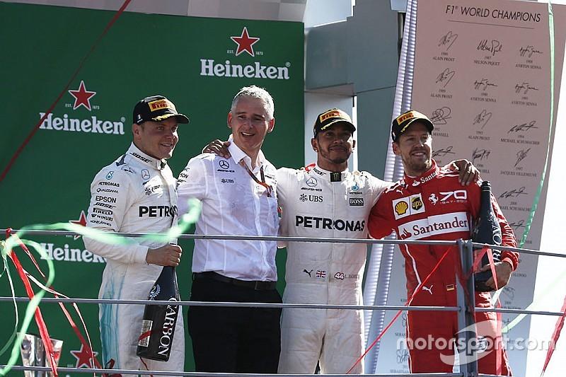 Гран Прі Італії: Хемілтон виграв гонку та очолив чемпіонат