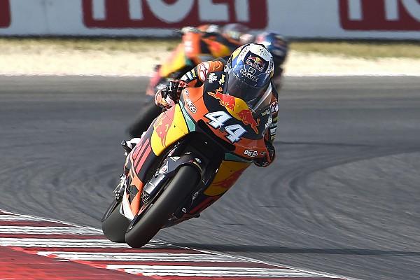 Valencia, Libere 1: Oliveira il più rapido, Morbidelli quinto