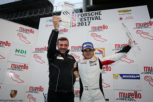 Carrera Cup Italia, Pellegrinelli al top al Mugello: