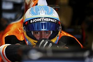 Formule 1 Actualités Alonso et McLaren s'accrochent aux faits, plus aux espoirs