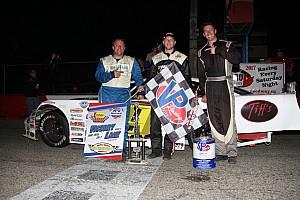 Stock car Breaking news Brandon Watson scores big APC Series win at Flamboro Speedway