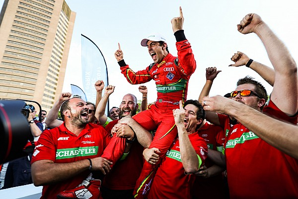 Formula E Di Grassi gana título de Fórmula E; Pechito López sube al podio