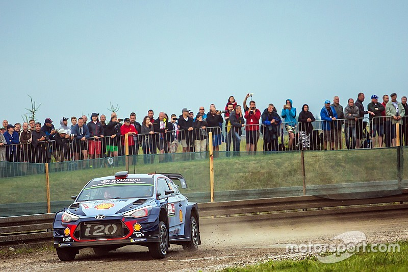 Poland WRC: Neuville and Tanak locked in thrilling lead battle