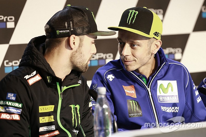 Россі: Я вдячний Yamaha за вибір Фольгера на роль тест-пілота