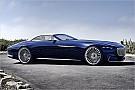 Automotive Spektakuläres Elektro-Cabriolet von Mercedes-Maybach vorgestellt