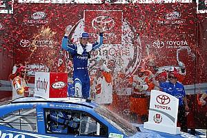 NASCAR XFINITY Race report Larson claims Richmond Xfinity win in overtime